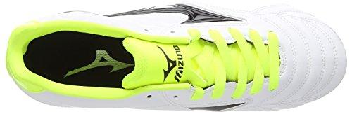Mizuno Waitangi Ps, Chaussures de Rugby homme Blanc (white/black/yellow)