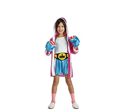 Car&Gus Disfraz de Boxeadora para niña