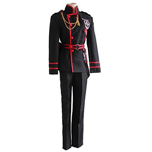 YKJ Anime Charaktere Spielen Uniformen Schwarz Kostüme Anime Charaktere Spielen Kostüme Zeigt Kleidung Komplettsets,Full - Lenalee Cosplay Kostüm