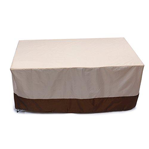 dDanke Innenhof Verandaschaukel Outdoor Liebesschaukel Sofa Möbel Cover Wasserdicht Staub Cover 170* 97* 71cm (Bench Lagerung Cover)