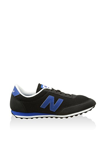 New Balance U410 D, Baskets mode mixte adulte Black Blue