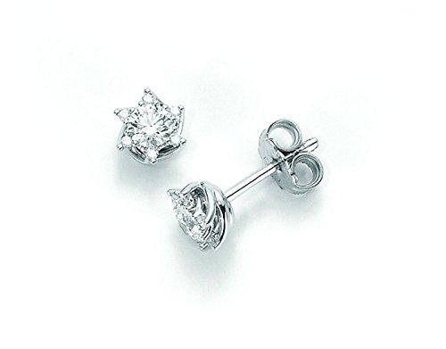 Orecchini Miluna Punto Luce ERD5070_010S Oro 750/1000 con diamanti