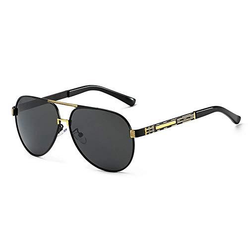 SCJ Herren Outdoor Freizeit Herren Retro Classic Polarized UV400 Sportbrille Anti-Fog Ideal für Autofahren oder sportliche Aktivitäten Lady Golf Fahrrad Angeln Sonnenbrille (Farbe: C1, Größe: Fr