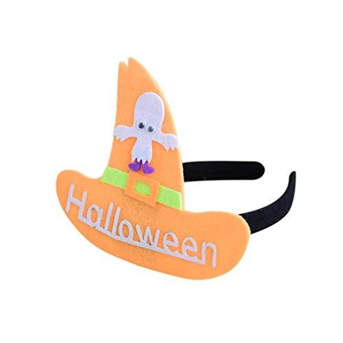 LANDFOX Halloween Haarschmuck Halloween Haarband Kopfstück Kostüm Requisiten Party Geschenk Dekorationen Perfekt für Viele Partys Attraktiver und Blickfang in der Party
