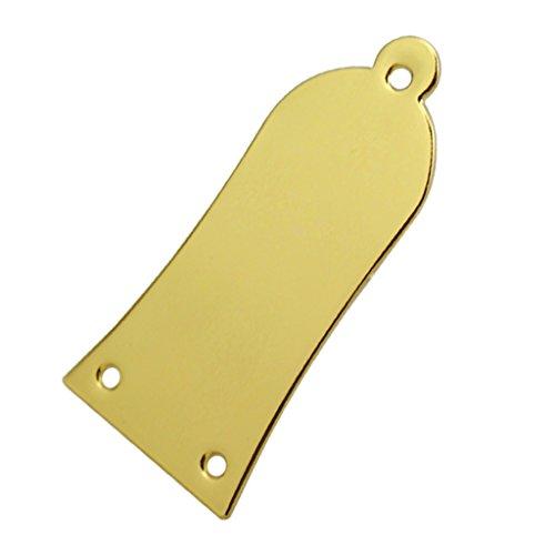 MagiDeal Truss Rod Cover Glocke Abdeckung Zubehör für E-Gitarre / Bass - Gold
