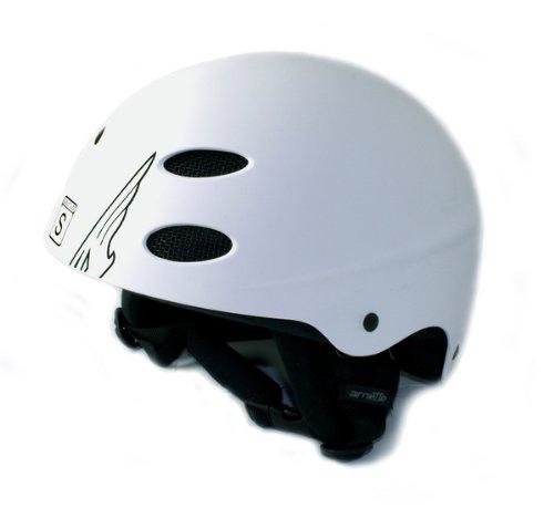 Arnette Plug In casco da sci Stencil White, bianco