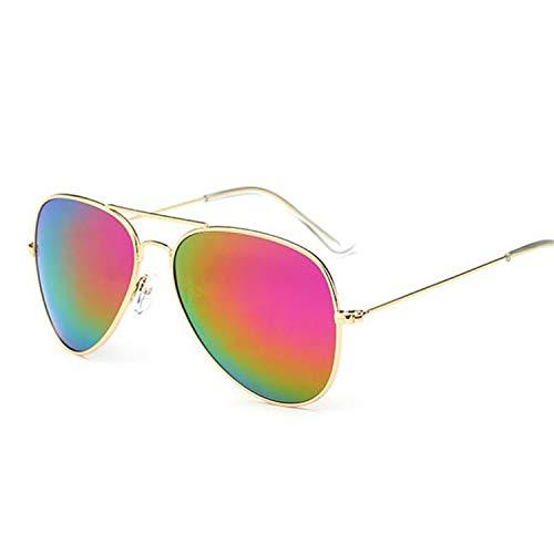 Daawqee Prämie Sonnenbrillen,Brillen,Pilot Sunglasses Women/Men Classic Polarized Aviation Sun Glasses Brand Real High Quality Limited Version Eyewear 3025 Gold Pink