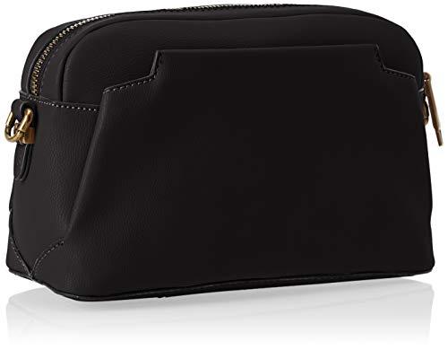 Trussardi Jeans Rabarbaro Shoulder Bag, Borsa a Tracolla Donna, Nero, 24x16x10 cm (W x H x L)