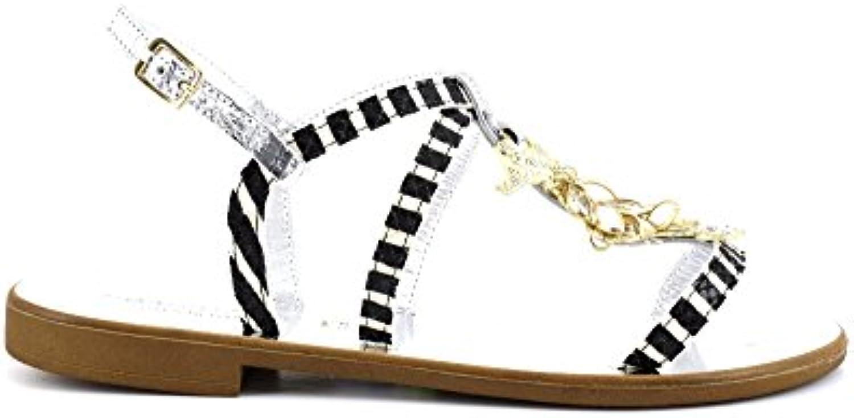 Sandalo laminato con cavalluccio Cafè nero nero nero art.GL924 40 | Un equilibrio tra robustezza e durezza  ff2f19