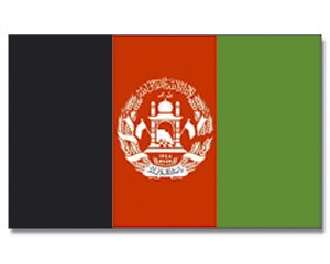 Yantec Drapeau Afghanistan 90 x 150 cm