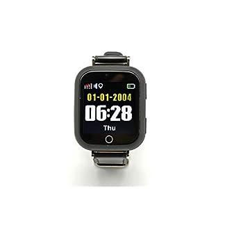 PRIXTON – Reloj Localizador Tracker para Adultos con GPS, Llamada SOS y Chat de Voz, Color Negro | G200
