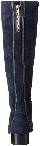Giudecca A6-1, Bottes hautes avec doublure froide femme Bleu - Bleu