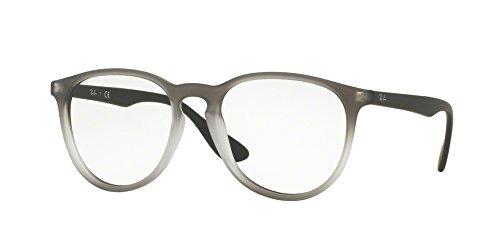 Preisvergleich Produktbild Ray-Ban RX7046-Gläser in schwarzem Gummi RX7046 5364 51, GREY SHADED, 51