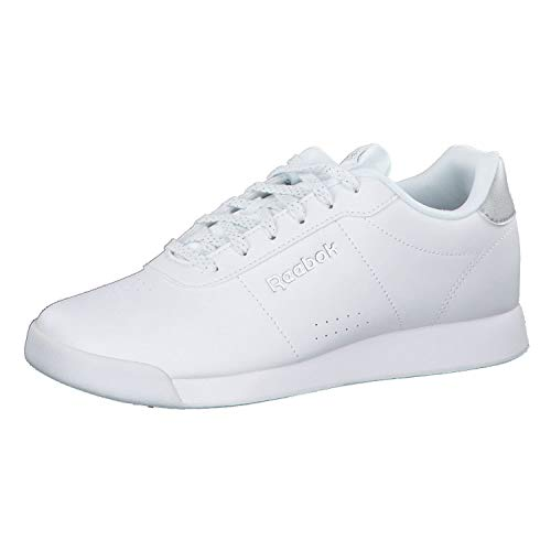 Reebok Damen Royal Charm Multisport Indoor Schuhe, Weiß (White/Silver Metallic 000), 37 EU