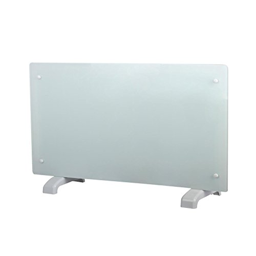 31ObX26K05L. SS500  - Electric Panel Heater Radiator Glass White Portable Free Standing Wall Mounted (2000w)