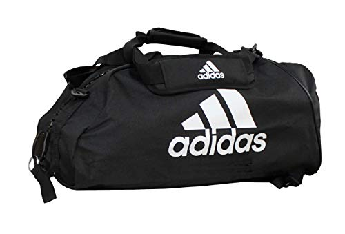 adidas Sporttasche - Sportrucksack schwarz/Weiss, Gr. S