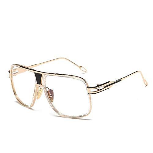 Sonnenbrillen. Quadratischen Rahmen Fashion Sonnenbrille Männer Vintage Metall Steampunk Sonnenbrille Frauen Schattierungen Outdoor Reisen Sommer Uv400