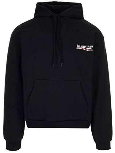 Balenciaga Herren 570809TBV141000 SChwarz Baumwolle Sweatshirt