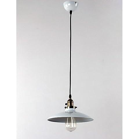 Illuminazione jiaily Max 60W tradizionale/Classic / Retrò / coppa Mini Style / lampadina inclusa verniciatura LightsLiving pendente / camera matrimoniale / Sala da pranzo / ,