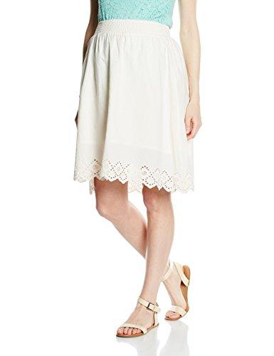 MAMALICIOUS Damen Umstandsrock Mlfemmy Woven Skirt, Elfenbein (Antique White), 36 (Herstellergröße: S) (Damen Woven Skirt)