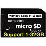 Akord pc-12New micro SD TF per memory stick Pro Duo adattatore