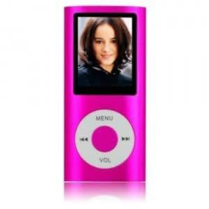 """MP4 / MP3 8Go 1,8"""" DICTAPHONE MUSIQUE PHOTO VIDEO RADIO FM - Rose"""