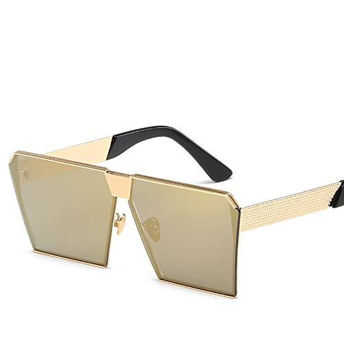 YUHANGH Color Women Sunglasses Einzigartige Oversize Shield Gradient Vintage Brillengestelle Für Damen