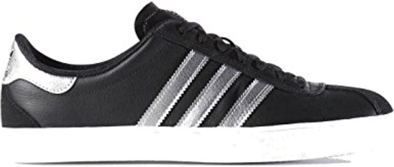 adidas Skate Adv' Core Black/Silver Metallic/Running White. -