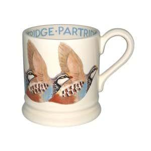 Emma Bridgewater Grive litorne Jeu Mug Oiseau Demi Pinte New