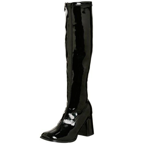 Pleaser Gogo300/b, Damen Stiefel, Schwarz (Black), 44 EU
