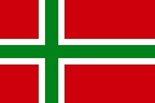 U24 Fahne Flagge Bornholm Bootsflagge Premiumqualität 20 x 30 cm