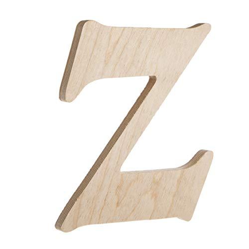 Darice Fancy Holz Buchstabe Z (Darice Buchstaben Holz Aus)