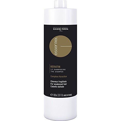 EUGENE PERMA Professionnel Shampooing pour Cheveux Fragilisés Keratin 1000 ml