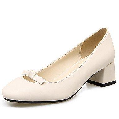 Zormey Frauen Schuhe Ferse Quadratische Spitze Bowknot Schlupf An Der Pumpe Mehr Farbe Verfügbar US8 / EU39 / UK6 / CN39
