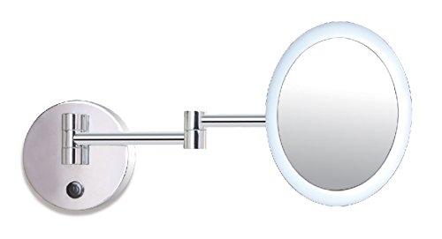 Onli rim applique da bagno specchio led integrata 4.5 w cromo