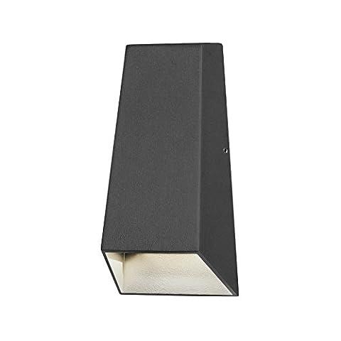 Konstsmide 7911–370Imola Applique LED haute puissance en métal, anthracite