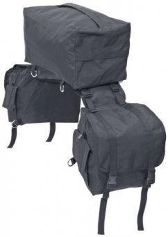 Busse Sac D'emballage 3-en-1 - Noir, Western