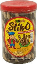 Ecco Food Corp. Stick-O Chocolate Flavour Wafter Stick Biscuit