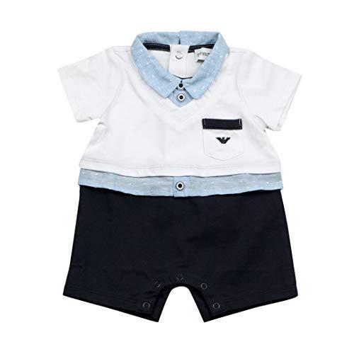 Emporio Armani Junior Tutina Bambino Baby Boy Mod. 3GHD14 6M - Armani Junior