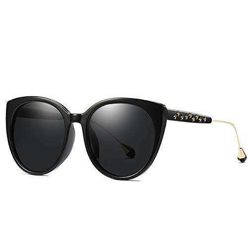 FURUDONGHAI New Ladies Polarized Sonnenbrillen Fashion Turgid Rahmen Gläser UV400 Schutz Persönlichkeit Genius Dekorative Gläser Beine besonders geeignet für sommerreisen oder Outdoor s