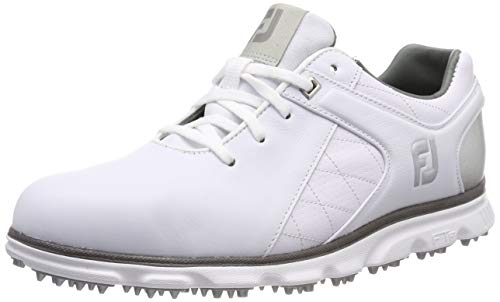 Foot Joy Pro S/l Chaussures de Golf Homme, Blanc (Blanco...
