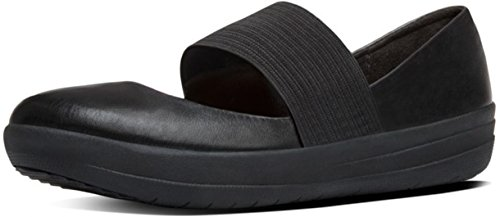 Fitflop Ballerines F-Sporty Mary Jane All Black All Black
