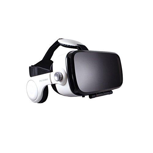 Metronic 476101 Virtual Reality-Kopfhörer VR360 weiß/schwarz