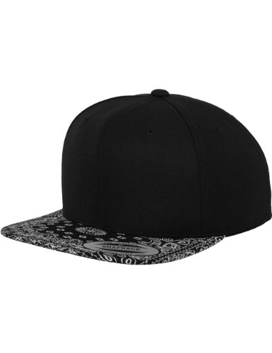 Flexfit Erwachsene Mütze Bandana Snapback, Blk, One size, 6089BD (Großhandel Stirnbänder Und Accessoires)