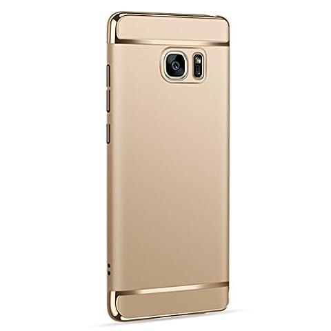 Webla Samsung Galaxy Note 5 Hülle ,Thin Electroplate Hard Case Cover für Samsung Galaxy Note 5 Handyhülle Case Schutzhülle für Samsung Galaxy
