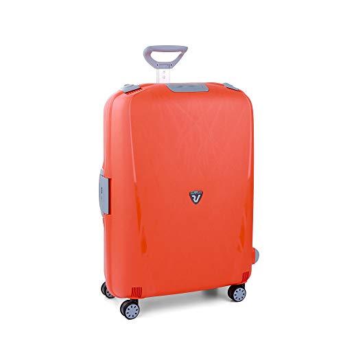 Roncato Trolley Grande 4r Light Valigia, 75 cm, 109 liters, Blu (Arancio)