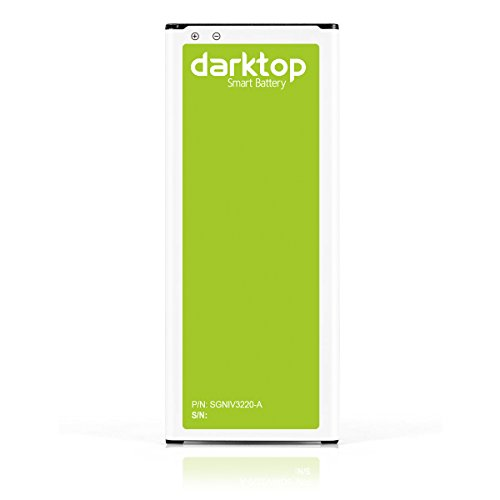 Darktop® 3220mAh Li-ion Akku Batterie für Samsung Galaxy Note 4 N9100 SM-N910 - (auch kompatibel mit N910C, N910F, N910H, N910U 4G LTE) (mit NFC / Google Wallet)