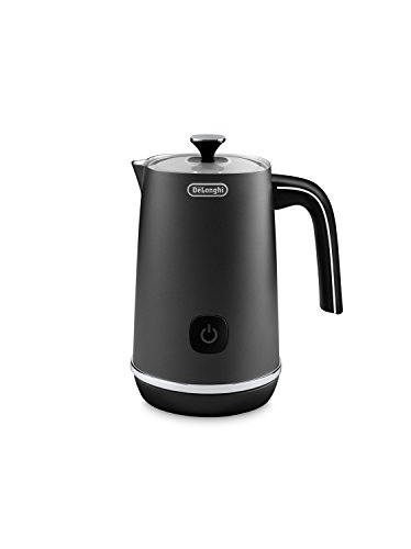 De'Longhi EMF1BK Automatic Metal Milk Frother, Black -