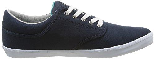 Umbro Long Sight Cvs Herren Sneaker Blau - Bleu (422-marine / Blanc)