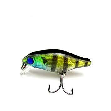 Sellify 5pcs 3,5 centimetri 2g Chubby richiamo di Pesca, artificiale Crank Wobbler Vibe esche Lure pro Pesca, Deep Dive - (Colore: Verde dell'Esercito): Armee-Grün